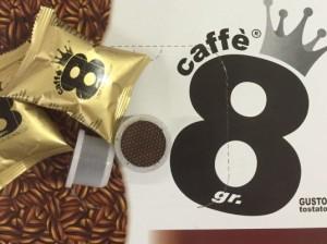 caffe 8 grammi espresso cup